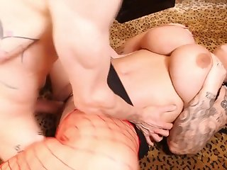 Samantha Panderer gets step son to demolish her chubby pussy