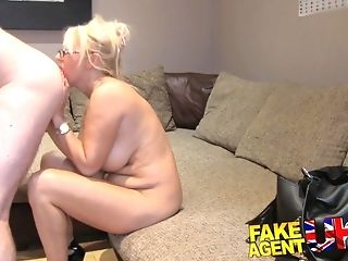 Fat cupcakes cougar alongside glasses doggyfucked elbow say no to first-ever pornography casting casting freeporn