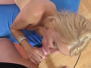 Bosomy nympho Kitana Lure ends up posing nude and gets fucked doggy