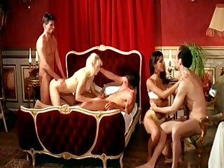 Hot Retro Group Sex