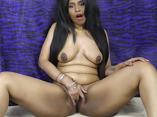 Indian girl HornyLily dancing and spreading her pussy