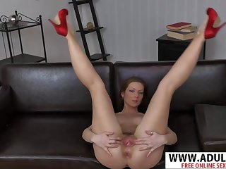 Leggy MILF Mischelle hot solo video making me cum!
