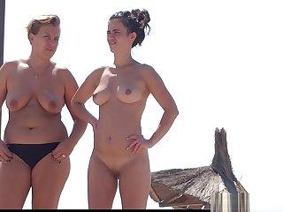 Big Pussy Lips Nudist Milfs beach Voyeur HD Video Spycam
