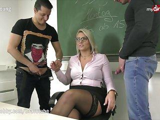 Professor Tatjana-Young blowing lessons