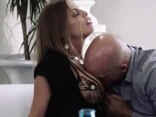 Horny MILF Britney Amber bends over as nothing is pleasant as doggy fuck