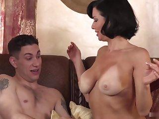 Busty Tits stepmom get humped senseless by stepson