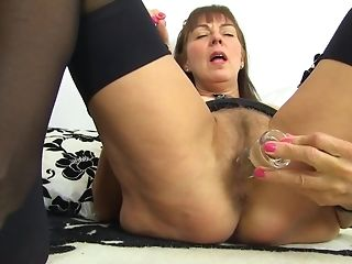 Obscene grandmother Remembers All Her paramours screwing Mortal physically With fuck utilize best porn