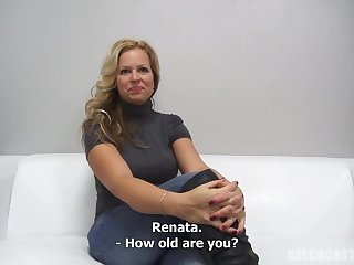 Inexperienced German MUMMY Takes Off Clothes At The Audition