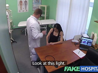 Fake Hospital Squirting MILF wants breast implants