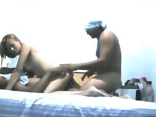 Horny MILF Camelia Loves Her Interracial Double Penetration