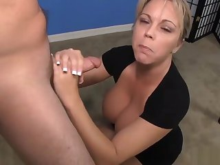 Milf Meets A Guys Who Hasnt Had A Cum Release For Weeks